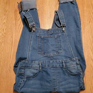 Denim Stretch Bib Overalls by H&M